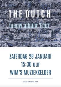 Wim's Muziekkelder poster
