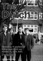 The Dutch affiche Paradiso september 2014