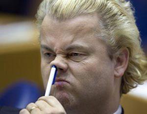 Wilders met pen