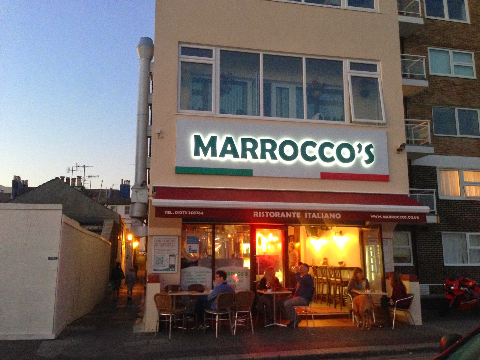 Marrocco's in Brighton and Hove