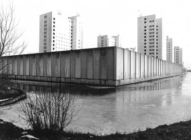 The Bijlmer jail in Diemen, the Netherlands