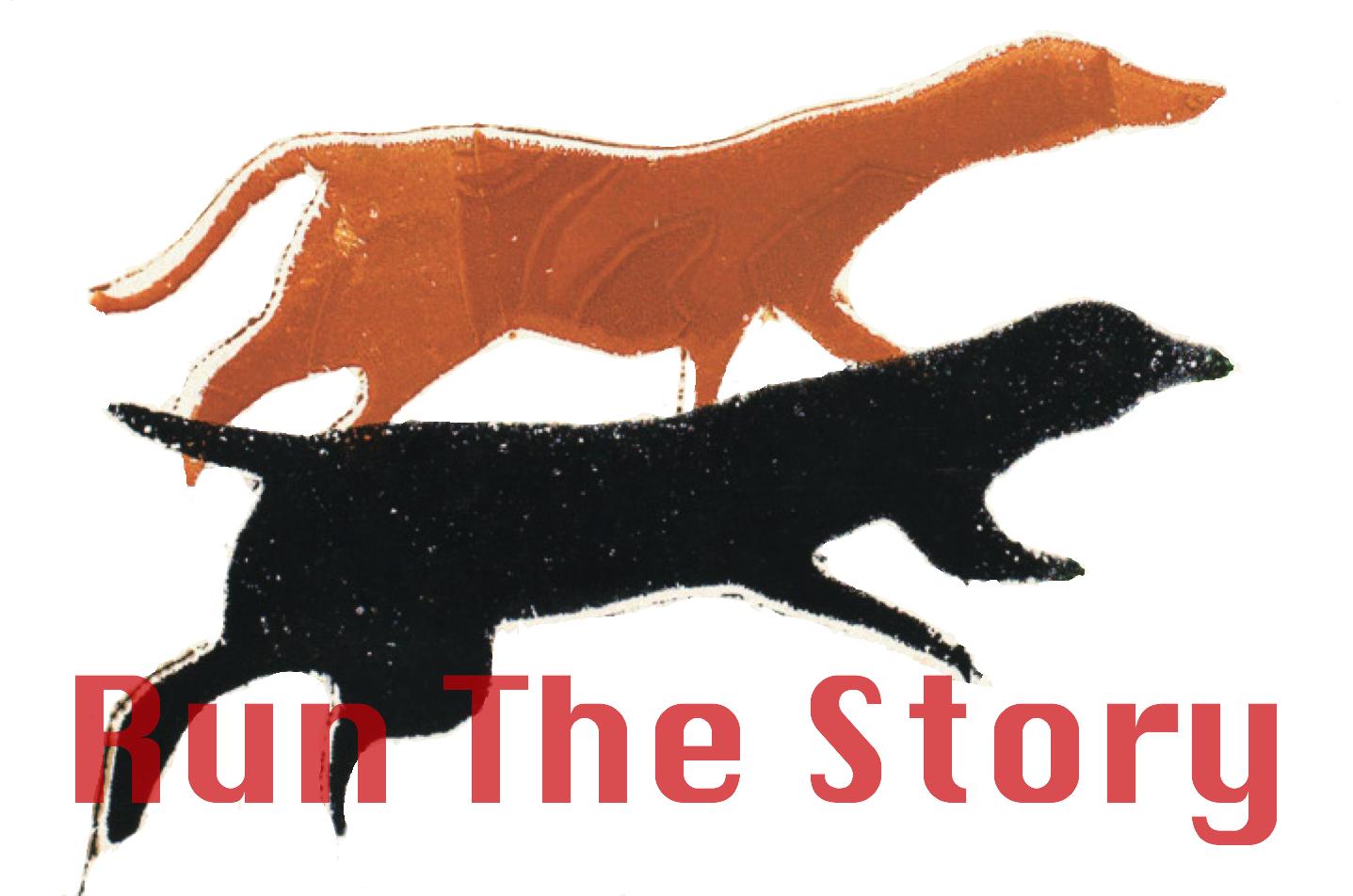 Run the Story logo