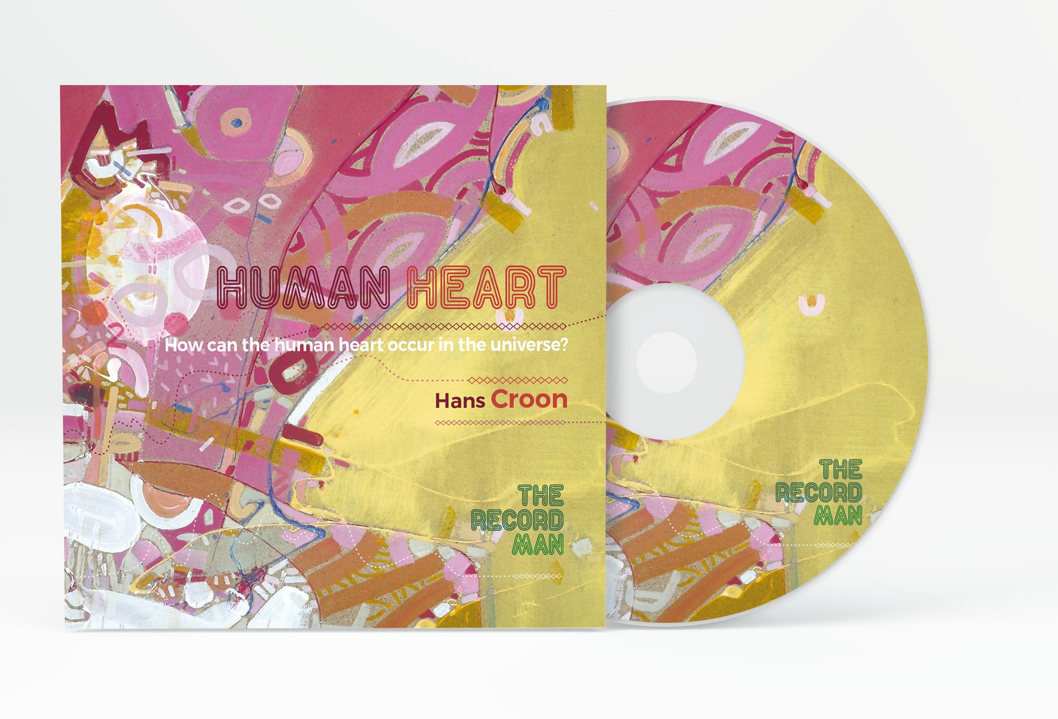 Human Heart - CD mockup