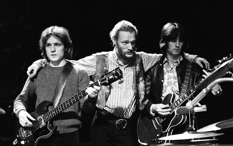 Cream: Jack Bruce, Ginger Baker, Eric Clapton